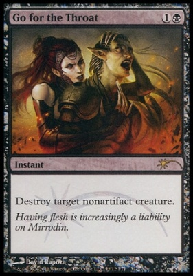 Promotional: Go for the Throat (FNM Foil)