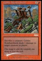 Promotional: Goblin Bombardment (FNM Foil)