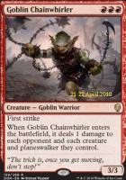 Promotional: Goblin Chainwhirler (Prerelease Foil)