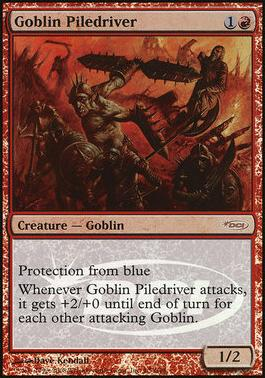 Promotional: Goblin Piledriver (Judge Foil)