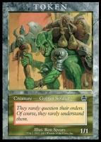 Promotional: Goblin Soldier Token (Apocalypse)