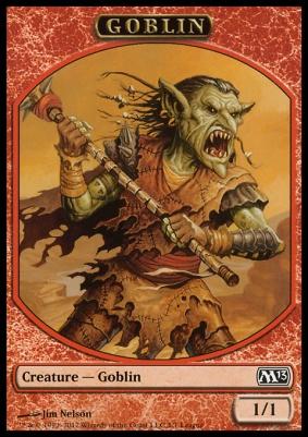 Promotional: Goblin Token (Magic League Promo)