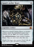 Promotional: Gonti's Aether Heart (Prerelease Foil)