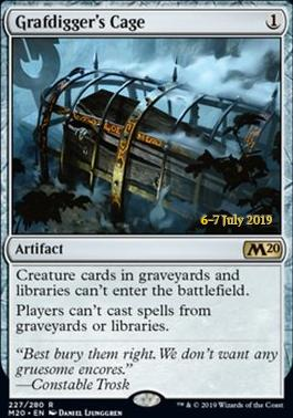 Promotional: Grafdigger's Cage (Prerelease Foil)