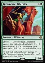 Promotional: Greenwheel Liberator (Prerelease Foil)