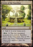 Promotional: Grove of the Guardian (Prerelease Foil)