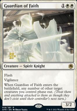 Promotional: Guardian of Faith (Prerelease Foil)