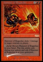 Promotional: Hammer of Bogardan (Judge Foil)