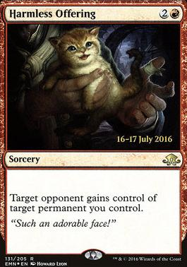 Promotional: Harmless Offering (Prerelease Foil)