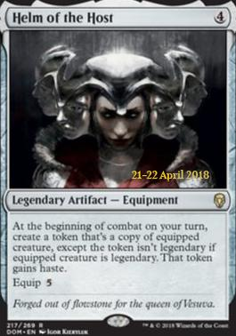 Promotional: Helm of the Host (Prerelease Foil)