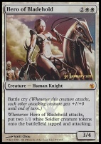Promotional: Hero of Bladehold (Prerelease Foil)