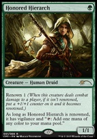 Promotional: Honored Hierarch (Clash Pack Foil)