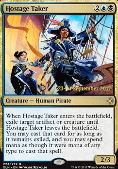 Promotional: Hostage Taker (Prerelease Foil)