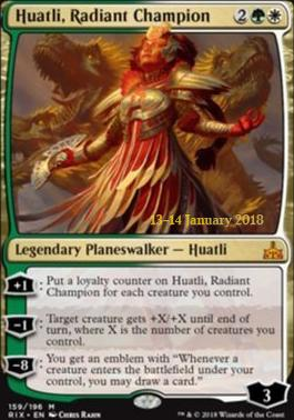 Promotional: Huatli, Radiant Champion (Prerelease Foil)