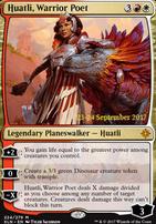 Promotional: Huatli, Warrior Poet (Prerelease Foil)