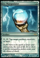 Promotional: Icy Manipulator (FNM Foil)