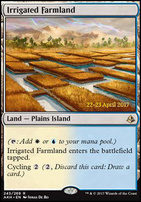 Promotional: Irrigated Farmland (Prerelease Foil)