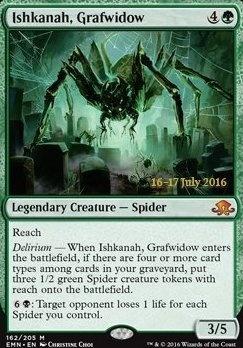 Promotional: Ishkanah, Grafwidow (Prerelease Foil)