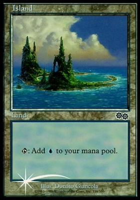 Promotional: Island (Arena 1999 Foil)