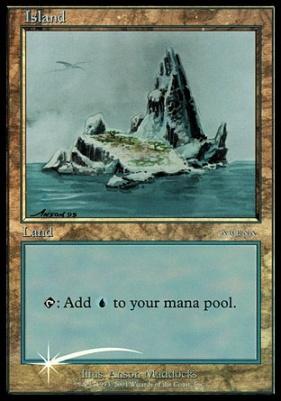 Promotional: Island (Arena 2001 Foil)