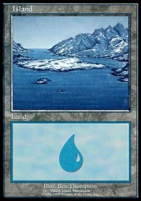 Promotional: Island (Euro Set Blue)