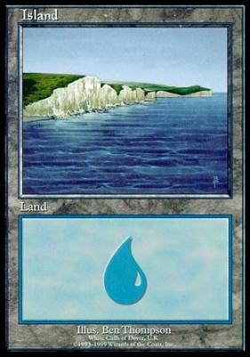 Promotional: Island (Euro Set Purple)