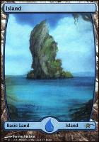 Promotional: Island (Full-art Judge Foil)