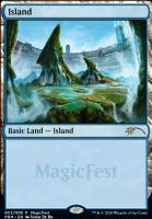Promotional: Island (MagicFest Non-Foil - 2020)