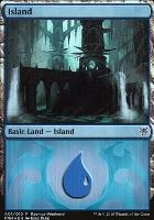 Promotional: Island (Ravnica Weekend - A01 Foil)