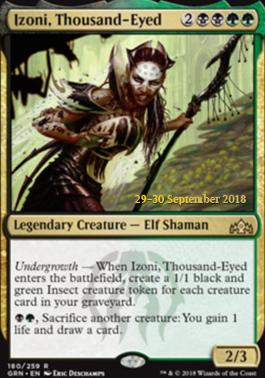 Promotional: Izoni, Thousand-Eyed (Prerelease Foil)