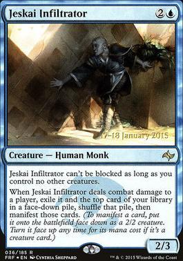 Promotional: Jeskai Infiltrator (Prerelease Foil)