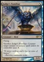 Promotional: Judge's Familiar (FNM Foil)