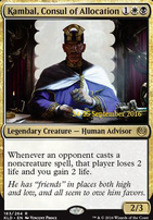 Promotional: Kambal, Consul of Allocation (Prerelease Foil)
