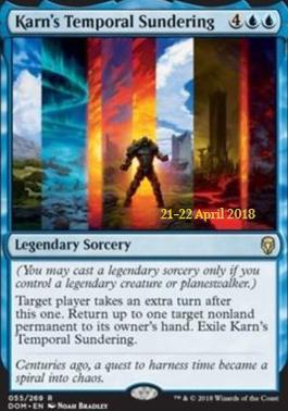 Promotional: Karn's Temporal Sundering (Prerelease Foil)