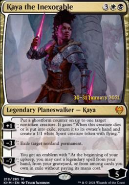 Promotional: Kaya the Inexorable (Prerelease Foil)