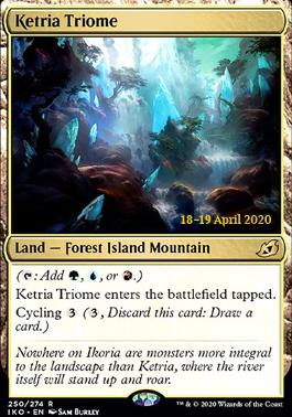 Promotional: Ketria Triome (Prerelease Foil)