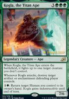 Promotional: Kogla, the Titan Ape (Prerelease Foil)