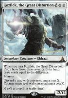 Promotional: Kozilek, the Great Distortion (Prerelease Foil)