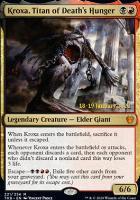 Promotional: Kroxa, Titan of Death's Hunger (Prerelease Foil)