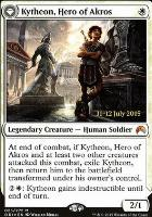 Promotional: Kytheon, Hero of Akros (Prerelease Foil)