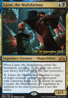 Promotional: Lazav, the Multifarious (Prerelease Foil)