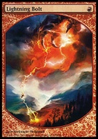 Promotional: Lightning Bolt (Textless Foil)