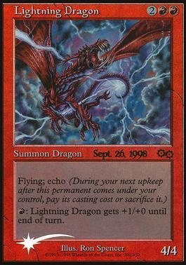 Promotional: Lightning Dragon (Prerelease Foil)