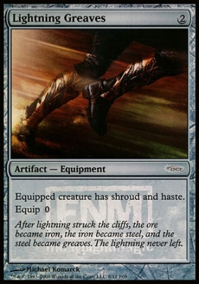 Promotional: Lightning Greaves (FNM Foil)