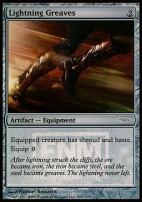 Promotional: Lightning Greaves (FNM Foil)