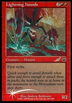 Promotional: Lightning Hounds (Insert Foil)