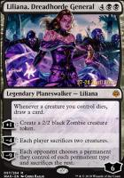 Promotional: Liliana, Dreadhorde General (Prerelease Foil)