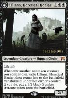 Promotional: Liliana, Heretical Healer (Prerelease Foil)