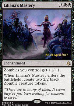 Promotional: Liliana's Mastery (Prerelease Foil)