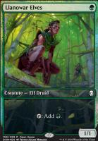 Promotional: Llanowar Elves (Open House Foil)